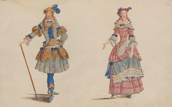 Lodovico Ottavio Burnacini - Figuríny (návrhy na divadelné kostýmy)