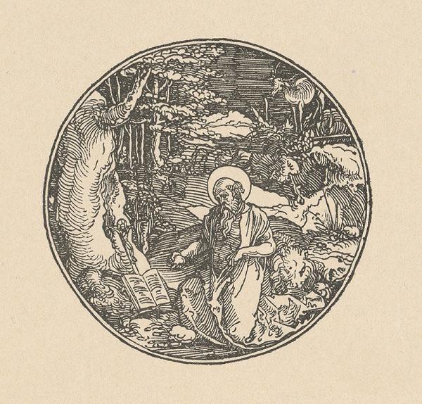 Stredoeurópsky grafik zo 16. storočia – Svätý Jeroným