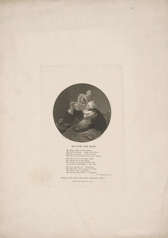 Tommaso Benedetti, Peter Fendi – Matka s dieťaťom
