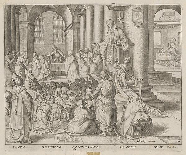 Maerten van Heemskerck, Claes Jansz. Visscher – Chlieb náš každodenný daj nám dnes
