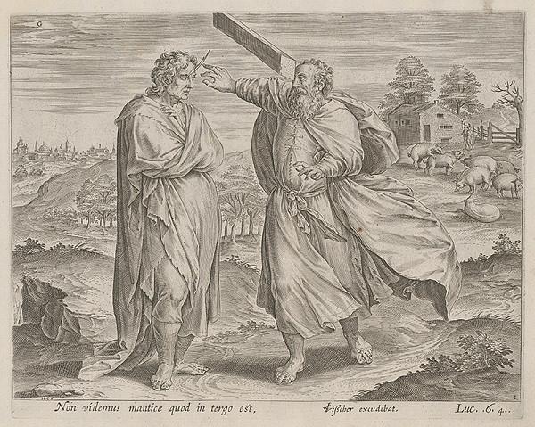 Stredoeurópsky maliar zo 17. storočia - Prirovnanie o smietke a brvne