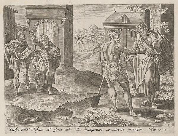 Stredoeurópsky maliar zo 17. storočia - Prirovnanie kráľovstva nebeského k pokladu nájdenému v poli