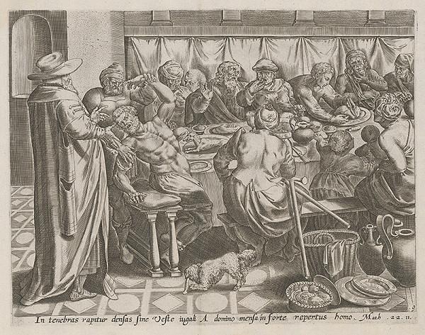 Stredoeurópsky maliar zo 17. storočia - Podobenstvo o kráľovi,ktorý strojil svojmu synovi svadbu