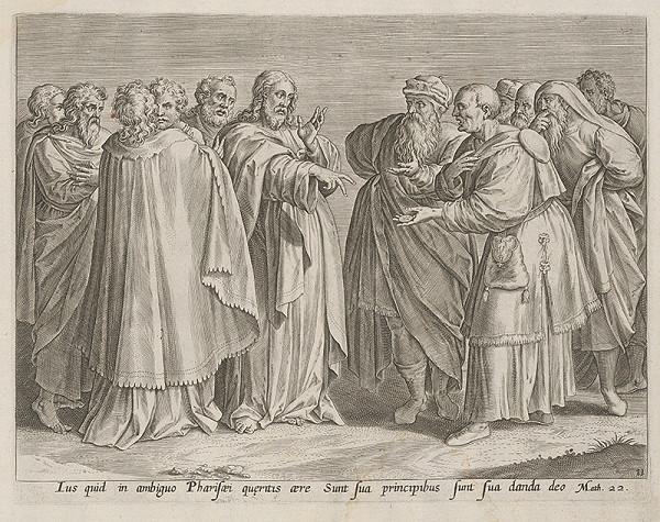 Stredoeurópsky maliar zo 17. storočia - Scéna z Nového zákona