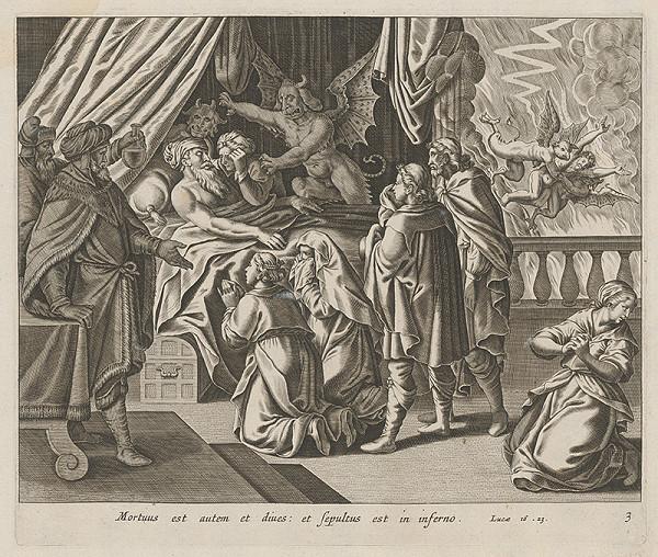 Stredoeurópsky maliar zo 17. storočia – Príbeh o bohatcovi a Lazarovi