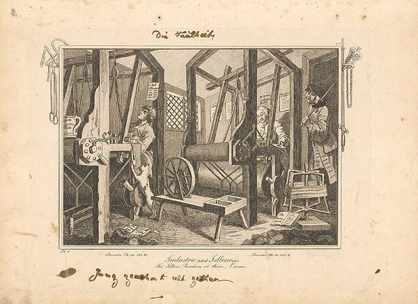 William Hogarth – Usilovnosť a zaháľka 1.