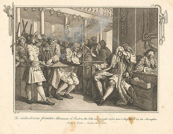 William Hogarth – Usilovný učeň londýnskym konšelom, lenivec...