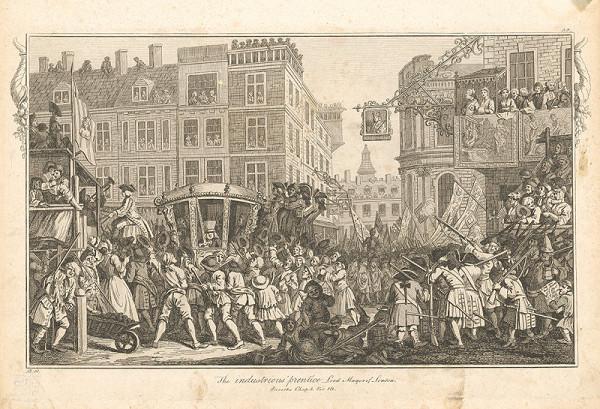 William Hogarth – Usilovný učeň londýnskym starostom