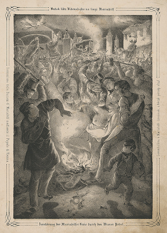 Anton Ziegler – Revolúcia vo Viedni r. 1848 II.