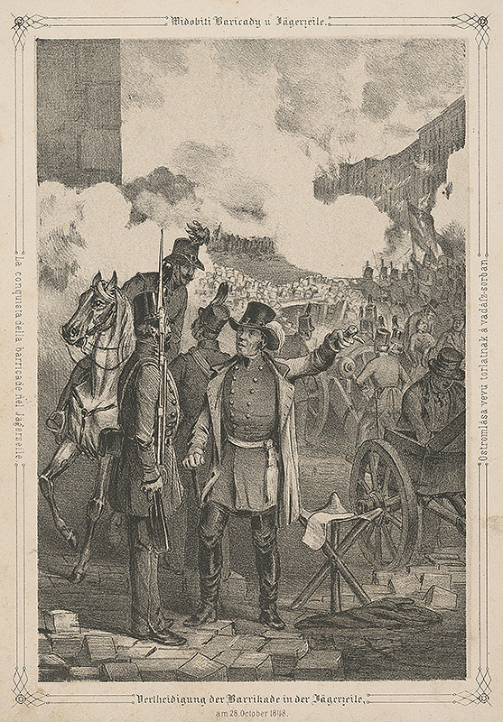 Anton Ziegler – Revolúcia vo Viedni r. 1848 VII.