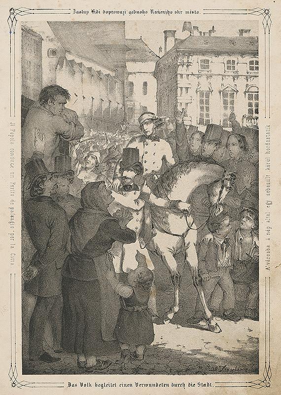 Anton Ziegler – Revolúcia vo Viedni r. 1848