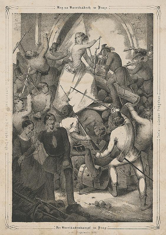 Anton Ziegler – Revolúcia v Prahe r. 1848
