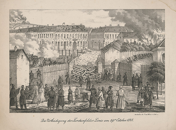 August Lentz – Revolúcia vo Viedni