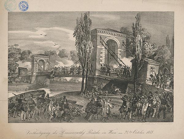 Friedrich Fritz, Fritz Werner - Pripomienka slávnych čias Rakúska (Obrana mostu Rasumofsky vo Viedni, 24. októbra 1848)