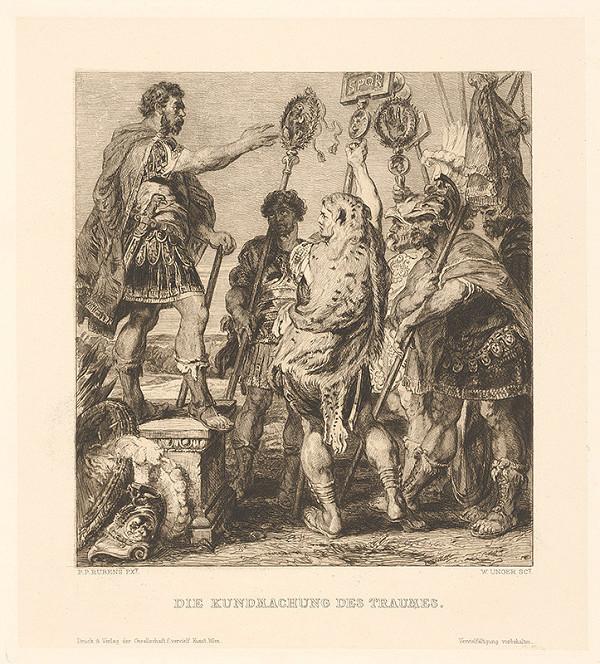 William Unger, Peter Paul Rubens – Vyloženie sna