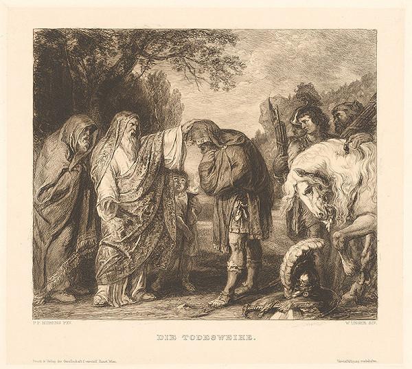 William Unger, Peter Paul Rubens – Pomazanie pred smrťou