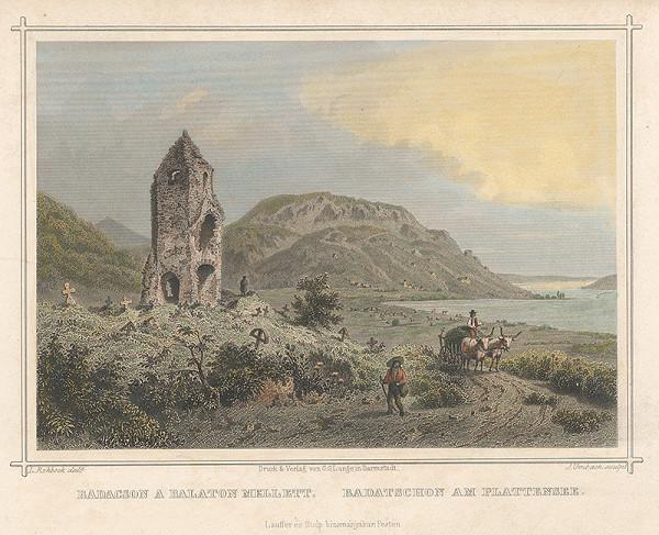 Julius Umbach, Ludwig Rohbock - Badacson pri Blatenskom jazere