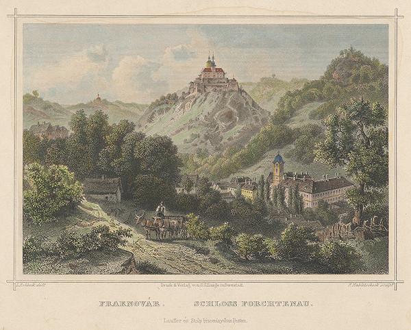 Franz Hablitschek, Ludwig Rohbock – Zámok Forchtenau