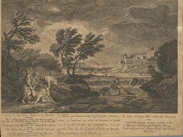 Claude-Joseph Vernet – Milosrdný samaritán