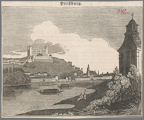 Stredoeurópsky grafik z 2. polovice 19. storočia - Bratislava