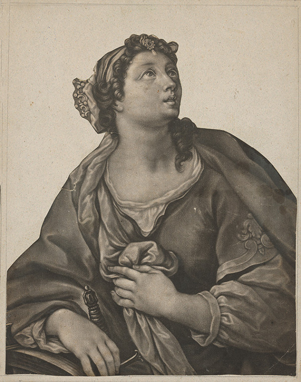 Salvator Rosa – Sv. Katarína Alexandrijská