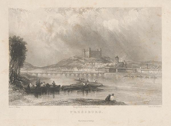 Edward Roberts, Karol Klette z Klettenhofu – Bratislava z juhu