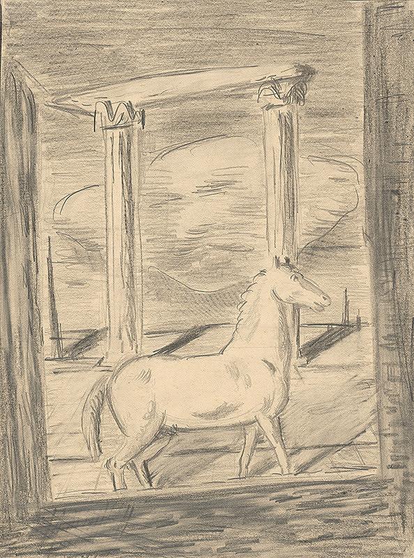 Cyprián Majerník – Kôň