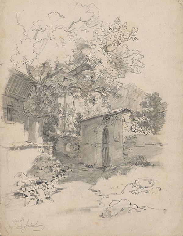 Ludwig Hans Fischer - Brána do zámockej záhrady