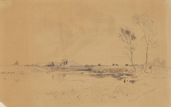 Gottfried Seelos – Krajina s rybníkom