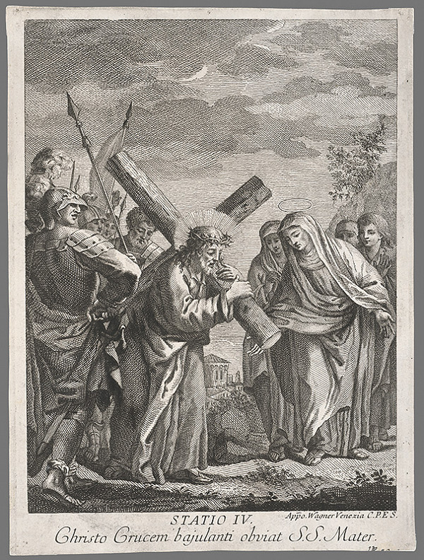 Joseph Wagner – Štvrté zastavenie Krista