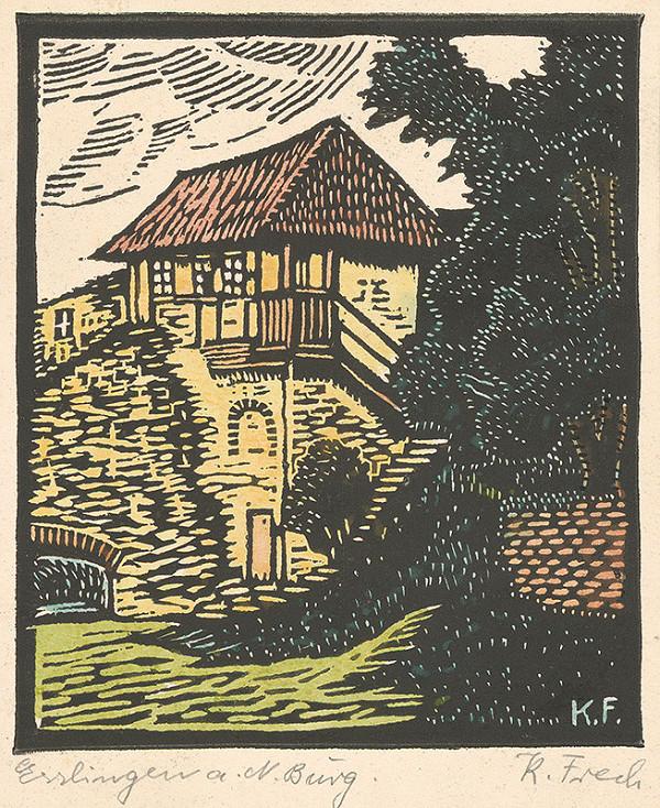 Karol Frech - Hrad v Esslingene