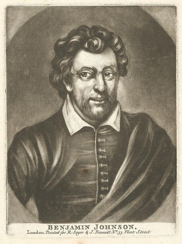 Stredoeurópsky grafik z 18. storočia – Benjamin Jonson