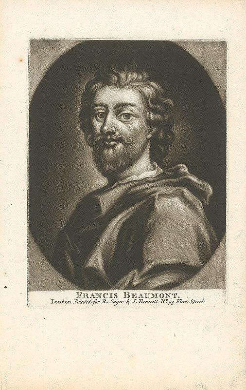 Stredoeurópsky grafik z 18. storočia – Francis Beaumont