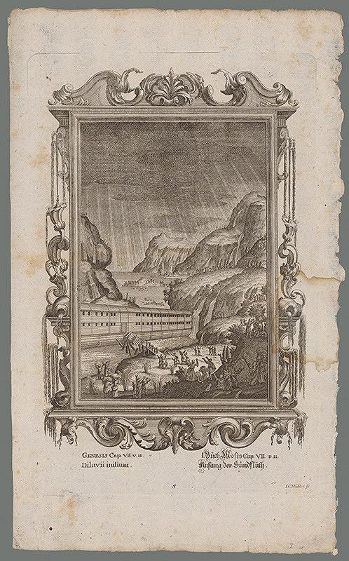 Johann Conrad Müller – Začiatok potopy