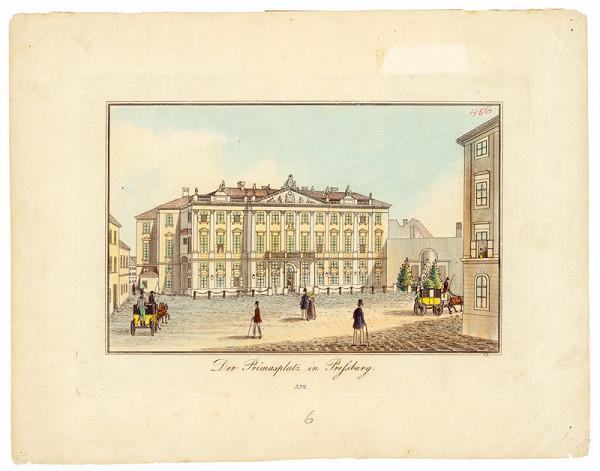 Johann Vincenz Reim – Primaciálny palác v Bratislave