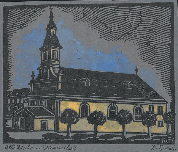 Karol Frech – Starý Blumentálsky kostol v Bratislave