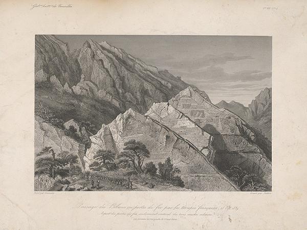 William Skelton, Adrien Dauzats – Prechod francúzskeho vojska cez Bibans