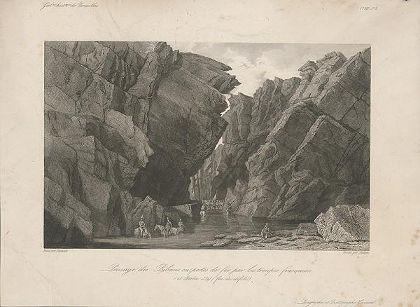 William Skelton, Adrien Dauzats - Prechod francúzskeho vojska cez Bibans III.
