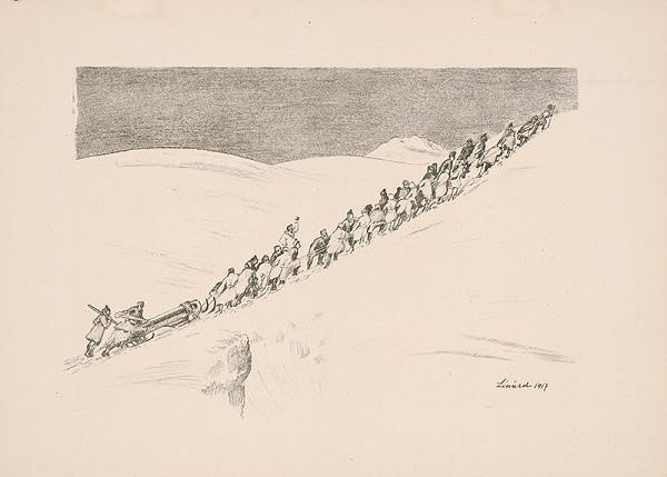 Robert Lénárd – Prechod Suvorovova cez Alpy