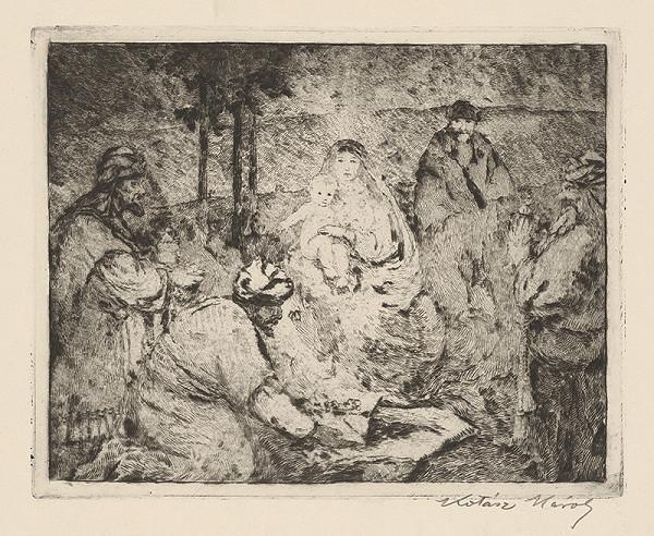 Károly Kotász – Klaňanie troch kráľov