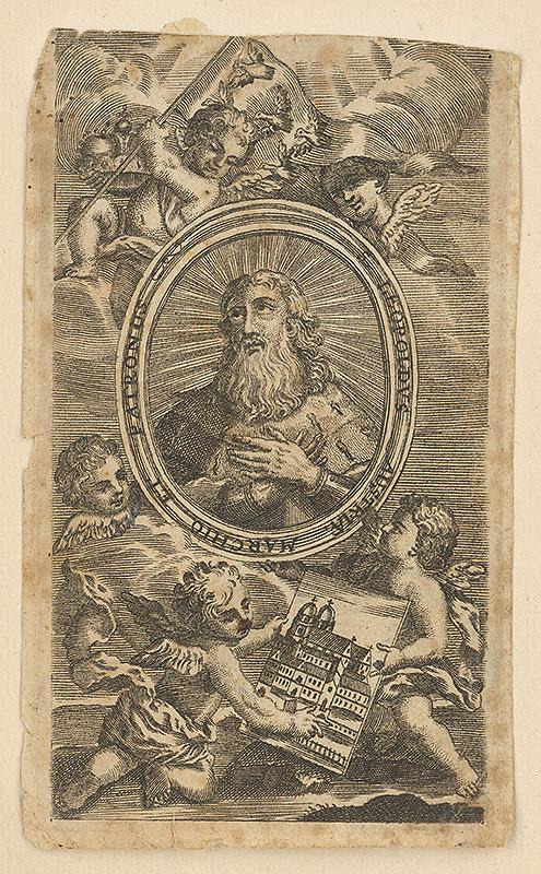 Stredoeurópsky grafik z 18. storočia – Svätý Leopold