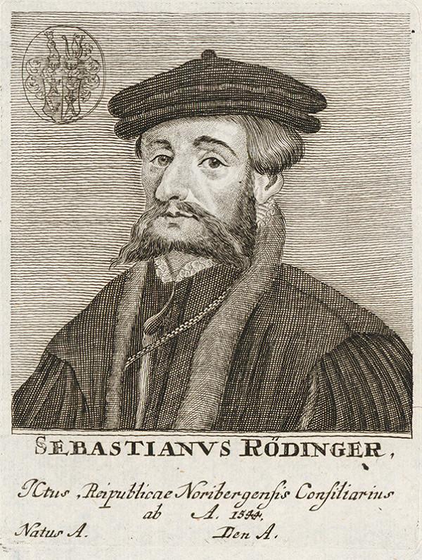 Stredoeurópsky maliar - Portrét S. Rödingera