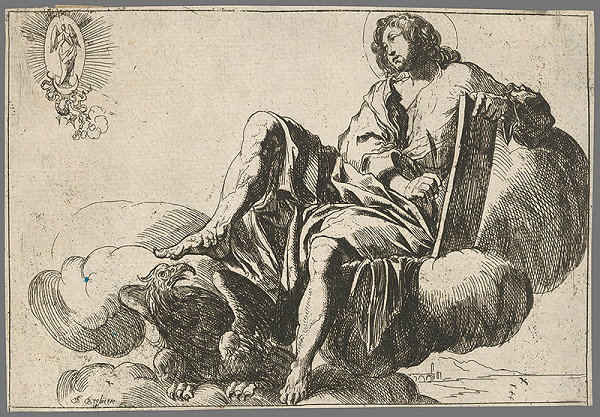 Pierre Brebiette - Svätý Ján Evanjelista