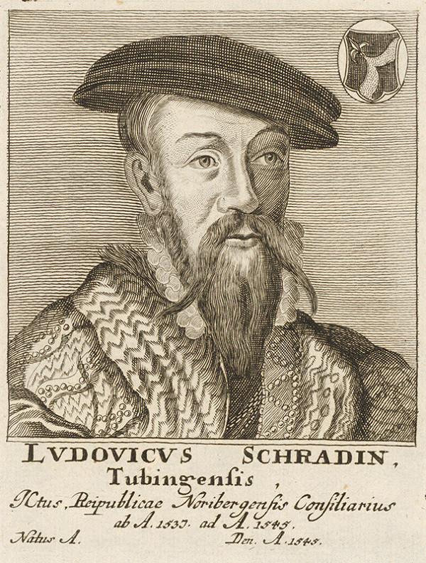 Stredoeurópsky maliar - Portrét L. Schradina