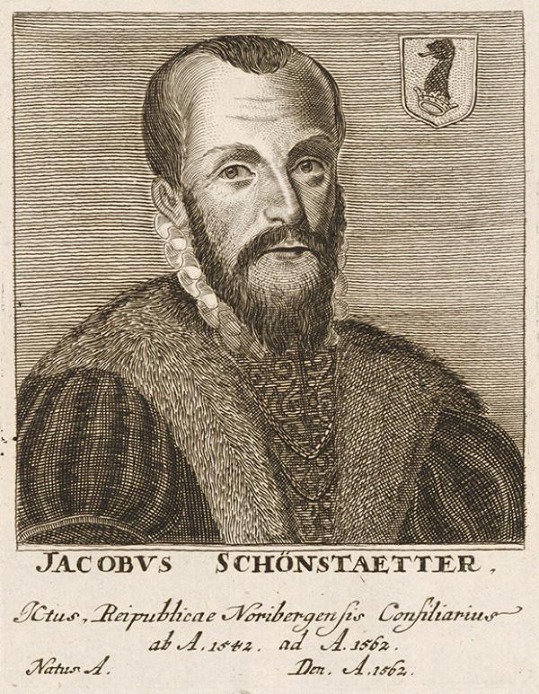 Stredoeurópsky maliar - Portrét J. Schönstaettera