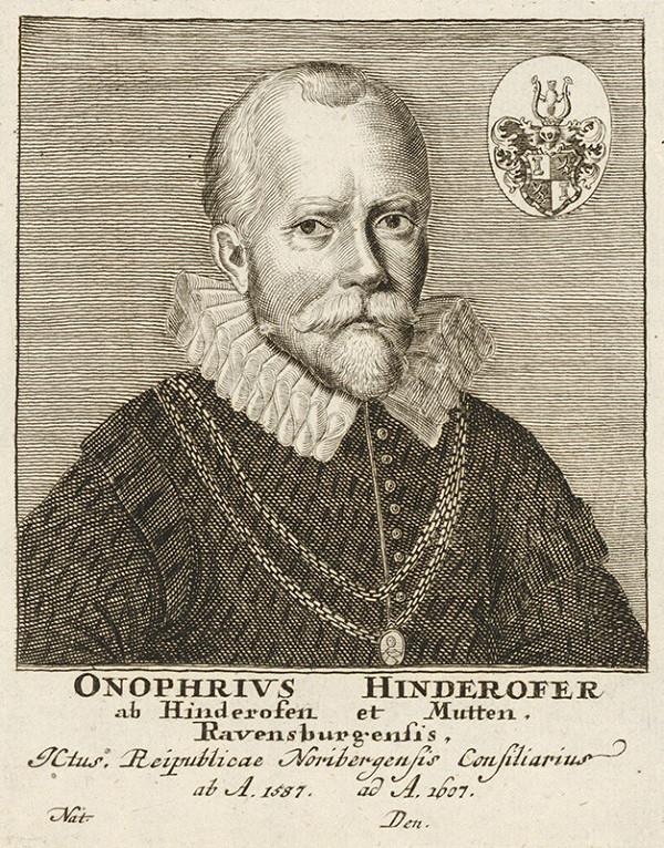 Stredoeurópsky maliar - Portrét O. Hinderofera