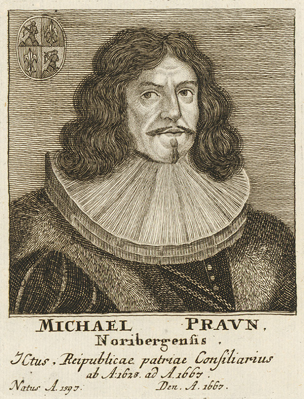 Stredoeurópsky maliar - Portrét Michaela Pravna
