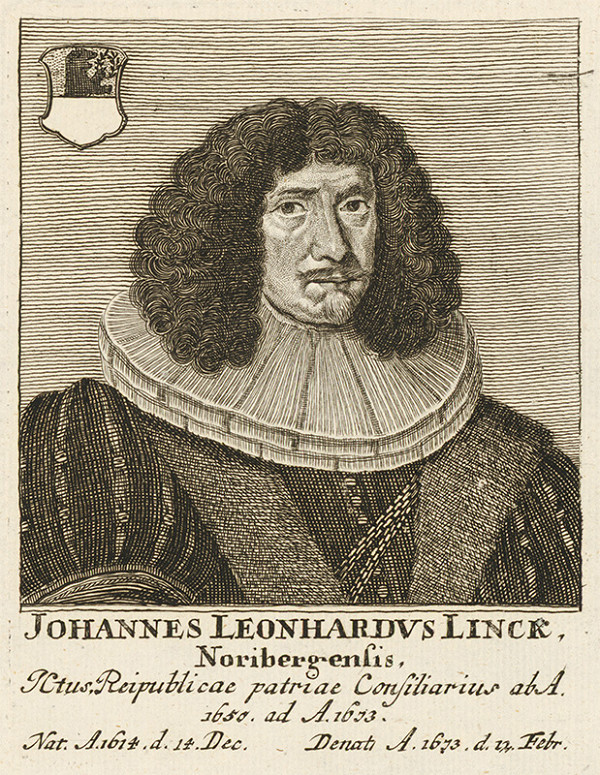 Stredoeurópsky maliar z prelomu 17. - 18. storočia - Portrét Johannesa L.Lincka