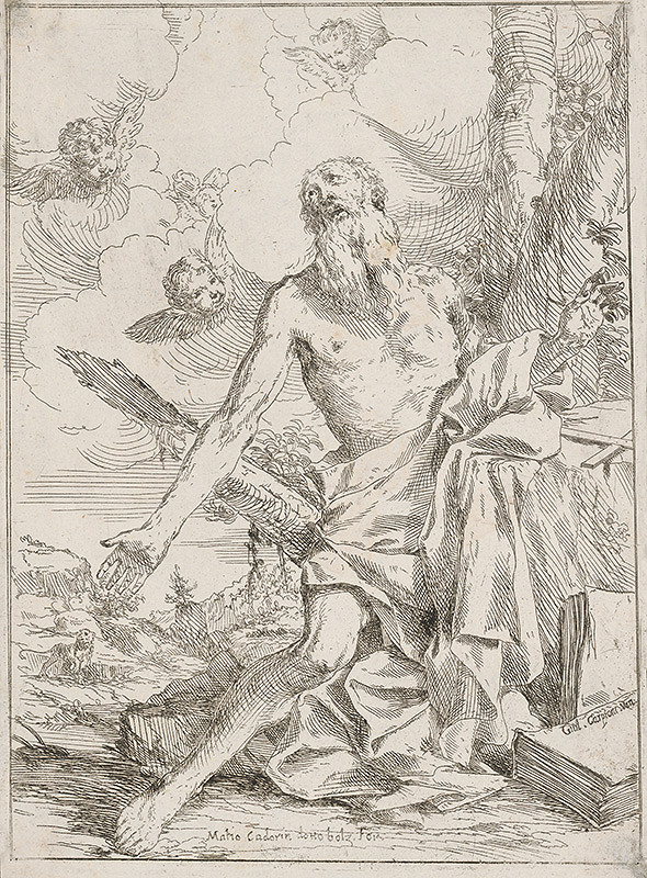 Giulio Carpioni, Matteo Cadorin - Svätý Hieronym