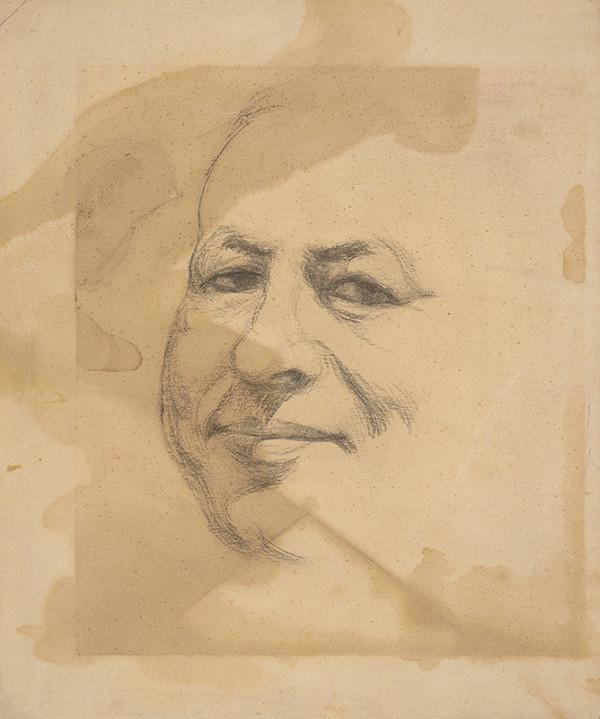 Jozef Arpád Murmann - Autoportrét
